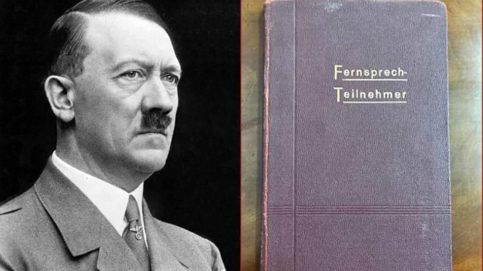 Foto: Hitler y su cuaderno. (Henry Aldridge and Son)