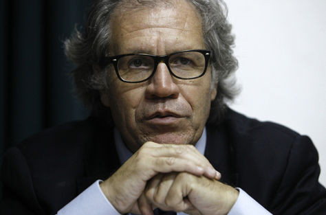 El secretario general de la OEA, Luis Almagro, será galardonado. Foto: Archivo EFE