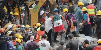 Rescate de supervivientes en México se suspende por nuevo sismo de 6,1 grados