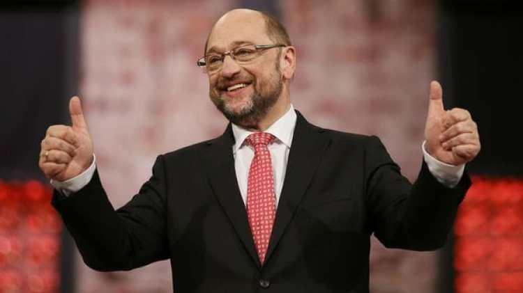 Martin Schulz, tras su elección como líder de la SPD (Reuters)