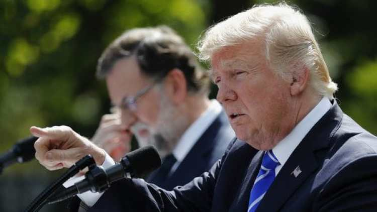 Trump y Rajoy hablaron de la crisis en Venezuela