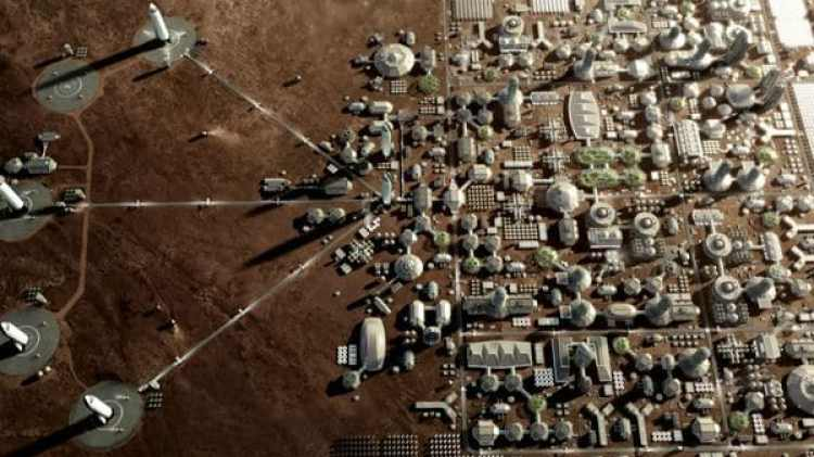 Mars City (Space X)