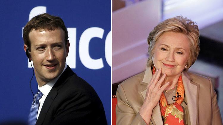 Assange: Los correos electrónicos de Podesta muestran la posible colusión de Facebook con Clinton