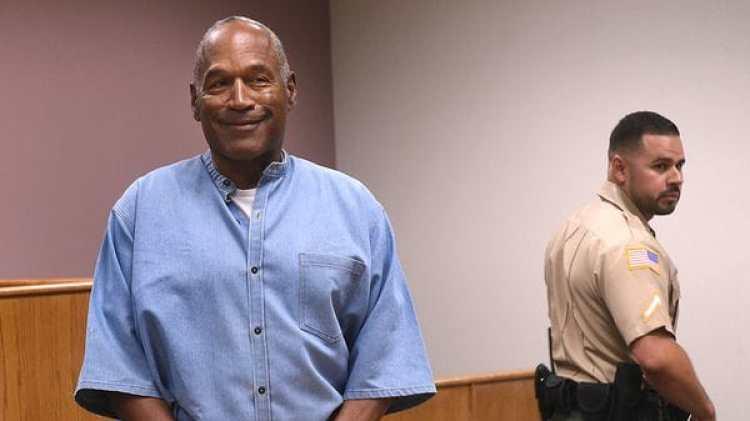 OJ Simpson puede salir de la cárcel a partir de este domingo 1 de octubre (AP)