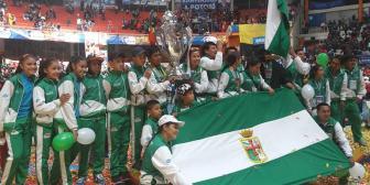 Santa Cruz campeón de la sexta versión de los juegos estudiantiles del nivel primario