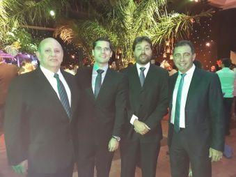 Gabriel Dabdoub, Jean Pierre Antero y Ricardo Reinos