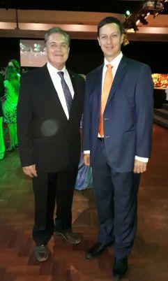 David Tufiño y Luis Foianini