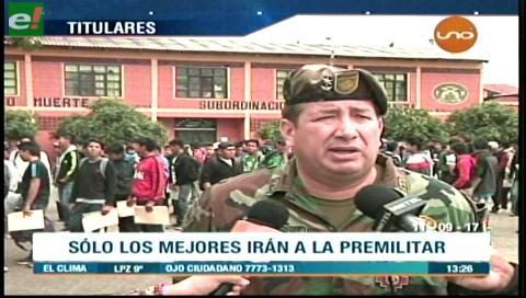 Video titulares de noticias de TV – Bolivia, mediodía del lunes 11 de septiembre de 2017