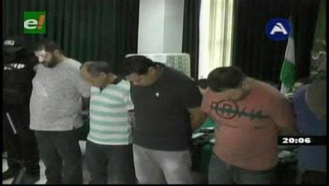 14 detenidos en operativo de incautación de armas