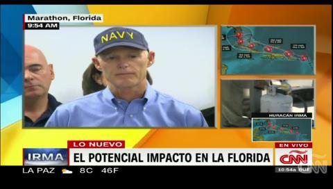 Gobernador de la Florida: Evacúen lo más rápido posible