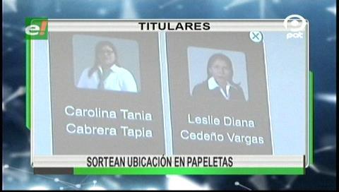 Video titulares de noticias de TV – Bolivia, noche del lunes 11 de septiembre de 2017