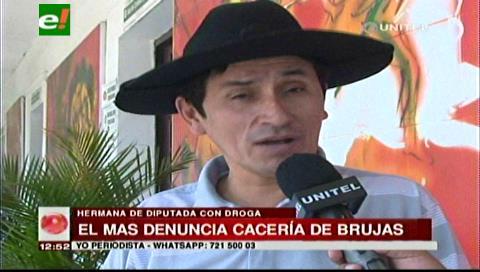 Diputado Vargas: Oposición utiliza los casos de narcotráfico para dañar la imagen del MAS