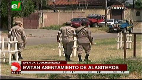 Alasitas: Vigilan avenida Sudamericana para evitar asentamientos, comerciantes quieren quedarse