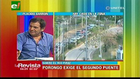 Sigue trancada la aprobación del segundo puente al Urubó