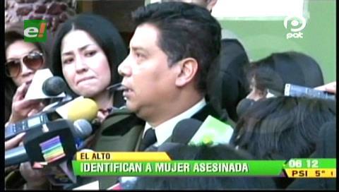 Identifican a mujer asesinada en la autopista La Paz-El Alto