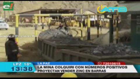 Mina Colquiri reporta cerca de $us 1.200 millones en ganancias en venta de minerales