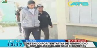 Hombre intentó matar a su expareja en El Alto