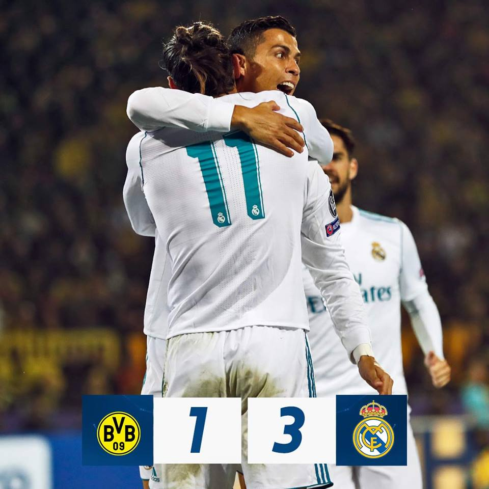 Real Madrid le puso fin al maleficio Dortmund