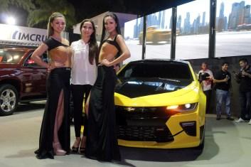 Talía Vargas, María Renee Fiorot, Brand Manager Chevrolet y Laura Parra