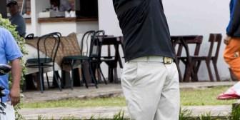 La lluvia protagonista en esta segunda jornada del Bolivia Open Mitsuba