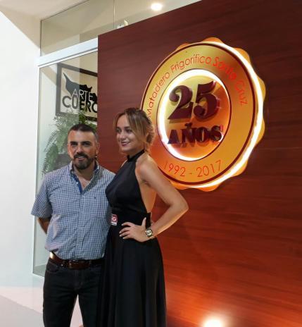 José Fernando Céspedes y Carla Lijerón