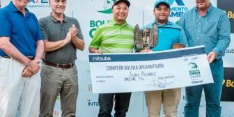 El uruguayo Juan Alvarez campeón del Bolivia Open Mitsuba