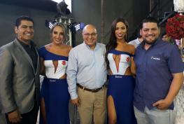 Alvaro Retamoso, Francia Antelo, Gabriel Davalos, Neyda Hurtado y Diego Aponte