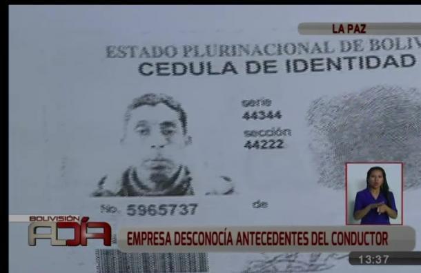 Empresa de radiotaxi donde trabajaba sospechoso de asesinato desconocía antecedentes de conductor
