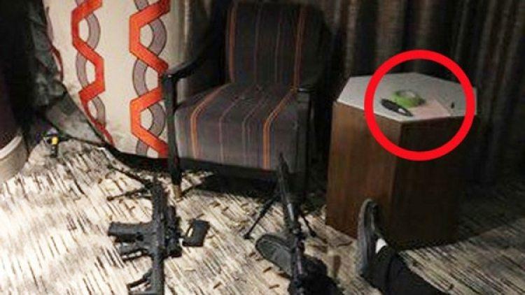 Así estaba la habitación de Stephen Paddock en el momento que ingresó el equipo SWAT