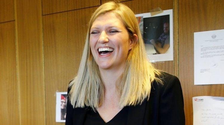Beatrice Fihn, directora ejecutiva de la ICAN. (Reuters)