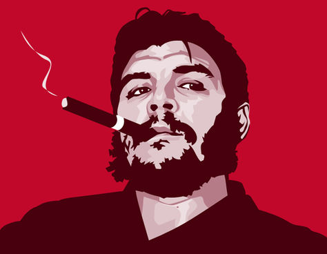 Una imagen de El Che Guevara. Foto: El Canario.net