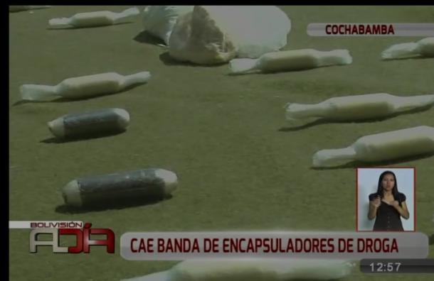 Cae banda de encapsuladores de droga