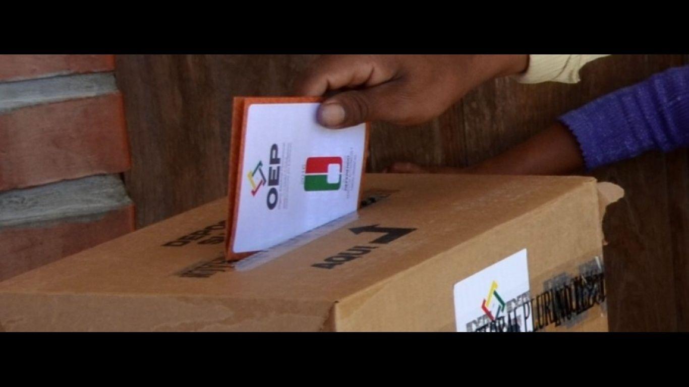 33.133 personas están inhabilitadas para votar — OEP