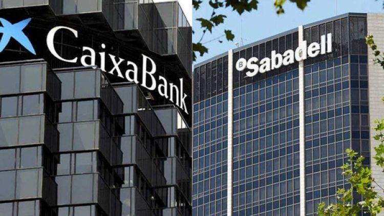 Caixabank y Sabadell fueron los primeros en anunciar su retiro de Cataluña