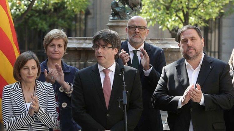 Carles Puigdemont hablará este martes (EFE)