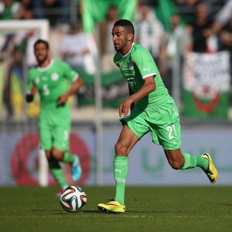 Riyad Mahrez, uno de los mejores jugadores de Argelia y la Premier League