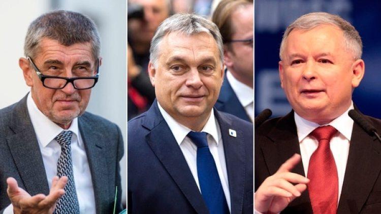 Andrej Babis, Viktor Orban y Jaroslaw Kaczynski son los rostros del populismo nacionalista europeo que podría causar las nuevosdolores de cabeza ala UE tras el Brexit yla crisis enCataluña.