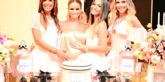 Chanel inspiró el baby shower de Vania Antelo