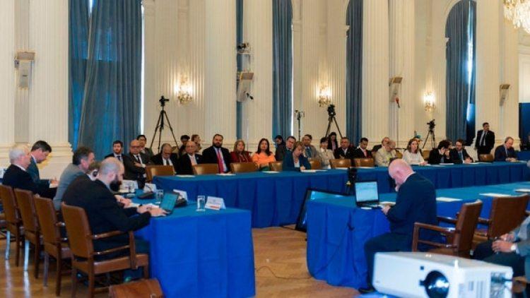 La OEA busca juntar pruebas de delitos de lesa humanidad en Venezuela para presentar ante la Corte Penal (Twiter: @OEA_oficial)