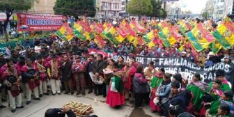 El Alto recuerda octubre negro y Sánchez Berzaín alega 'persecución'