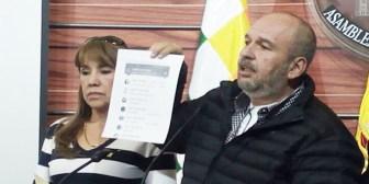 Senador Arturo Murillo denuncia  amenazas de muerte
