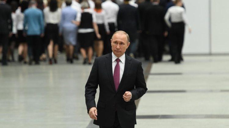 Aunque no lo confirmó, Vladimir Putin probablemente se presente para un nuevo mandato (AFP)