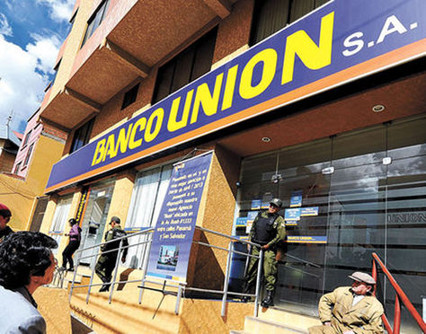 Resultado de imagen de del desfalco al Banco Unión