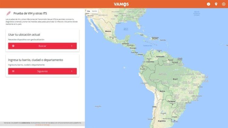 La aplicación VAMOS tiene una versión para web (Getty)