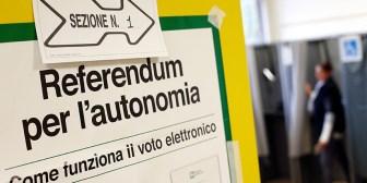 Las dos regiones más ricas de Italia votan para pedir más autonomía