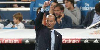 La calidad de Zinedine Zidane en el duelo entre Real Madrid y Eibar