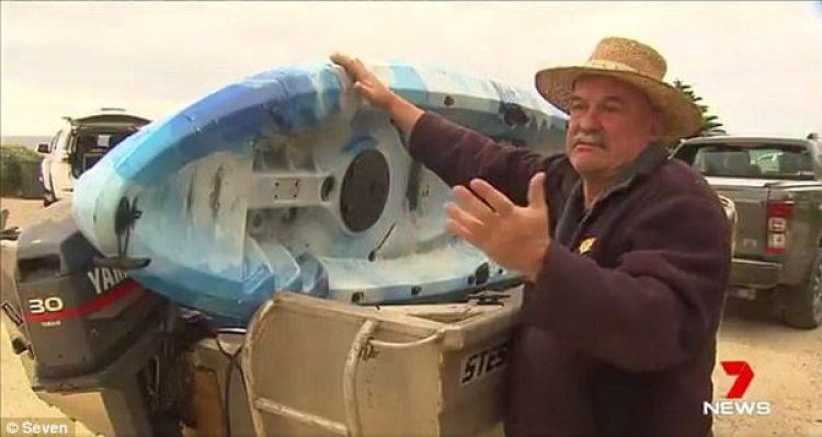 Chris Williams, padre de la chica atacada por un tiburón
