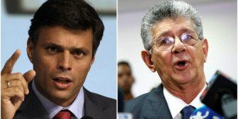 """El partido de Leopoldo López pidió """"una reunión de urgencia"""" para tomar decisiones respecto al futuro de la MUD"""