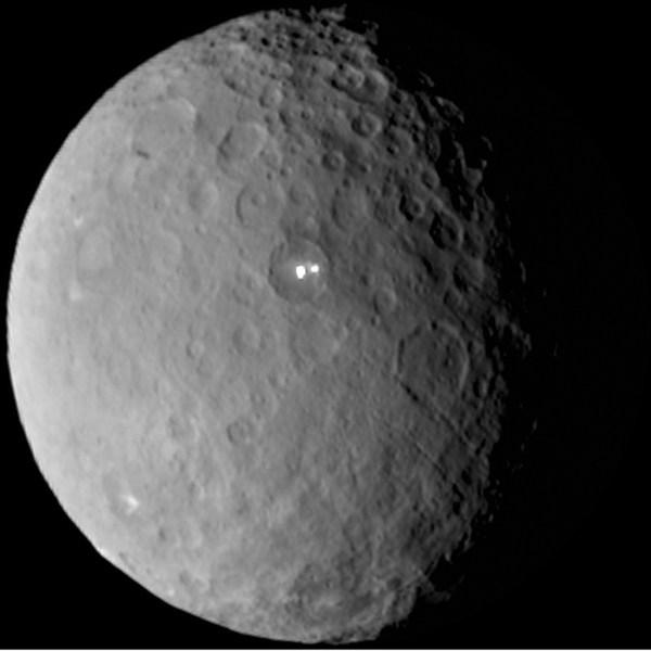 La NASA encuentra posibles restos de un océano en Ceres