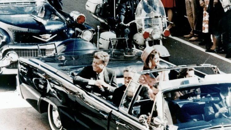 John F. Kennedy, el día de su asesinato en Dallas.